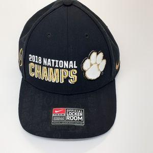 Nike Clemson 2018 champs adjustable hat
